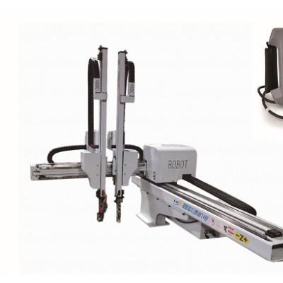 注塑机 鑫科源斜臂式机械手,五轴伺服式机械手,伺服横走式机械